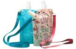 户外折叠水袋(保湿饮水两用)